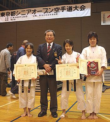 2012年11月25日東京都シニアオープン空手道大会06