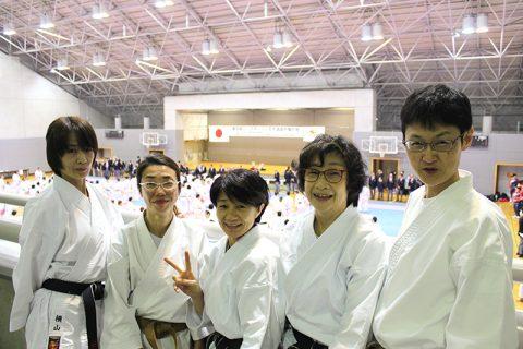 2019年11月24日 第26回東京都シニアオープン空手大会